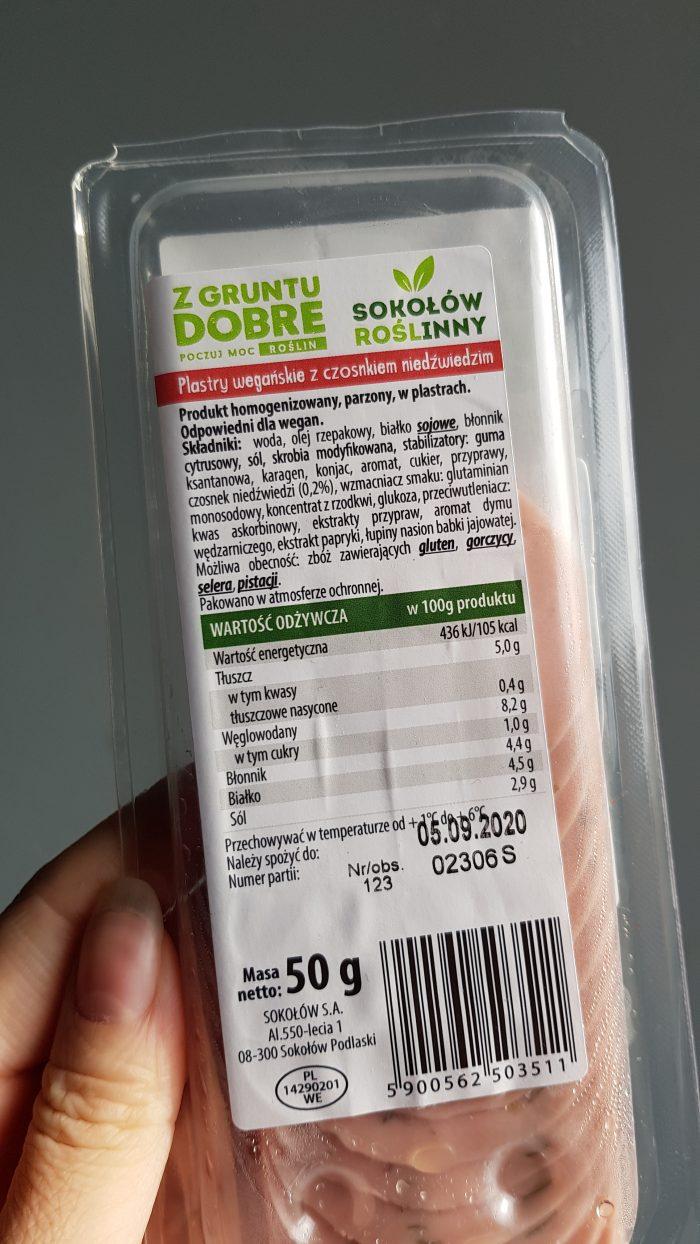wegańskie produkty z auchan